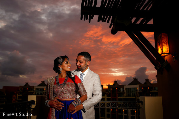 indian wedding gallery,indian bride and groom,outdoor photography