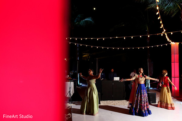 Indian bride's dance choreography