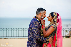 Indian lovebirds outdoor photo session