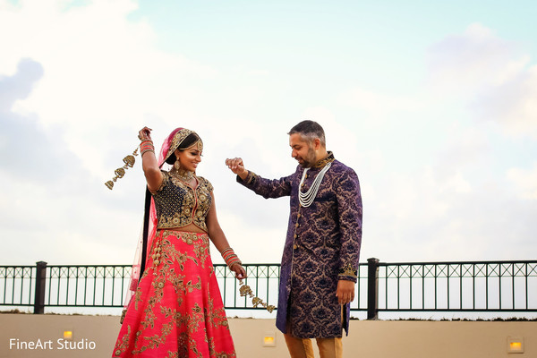 Indian lovebirds photo session