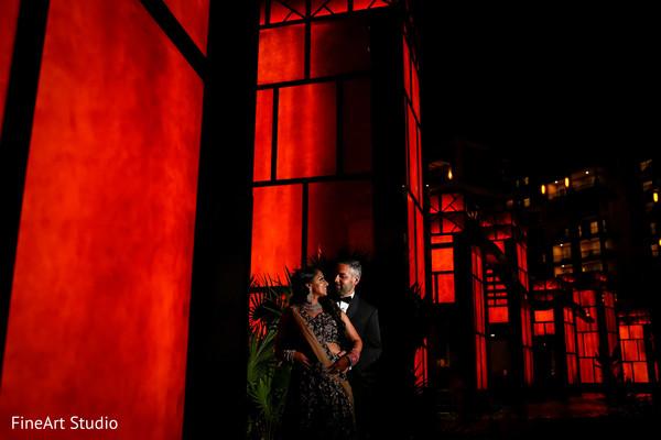 Indian newlyweds destination wedding photo shoot