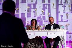indian wedding,sweethearts stage,toast
