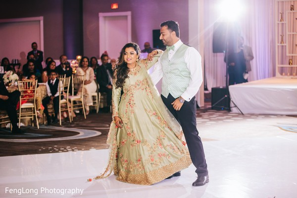 Indian Wedding First Dance in Atlanta, GA Indian Wedding by FengLong Photography