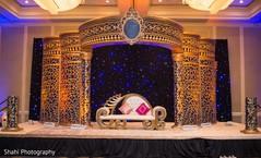 Magnificent Indian wedding mandap decoration.