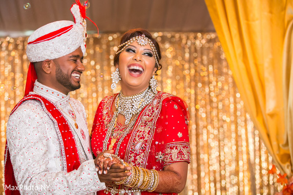 Joyful indian couple's capture