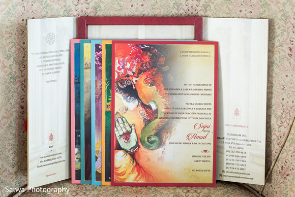 Creative indian wedding invitations