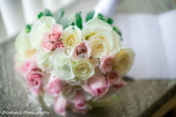 Lovely indian bridal bouquet
