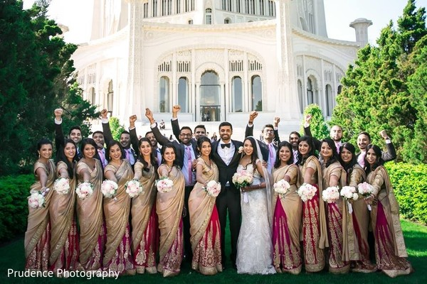 indian bridesmaids fashion,indian groomsmen fashion