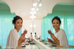 indian wedding gallery,indian bride getting ready,indian bride makeup