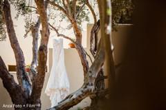 Lovely Indian white wedding dress capture.