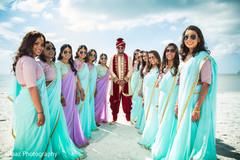 indian wedding gallery,outdoor photography,indian groom,indian bridesmaids