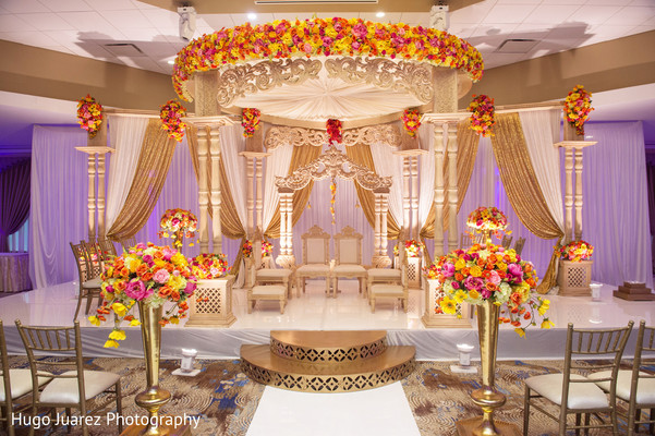 Heavenly Indian Wedding Mandap Decorations Photo 164175