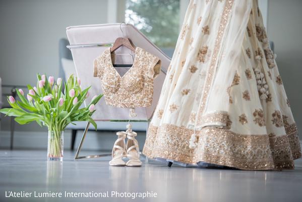Lovely Indian wedding trousseau.