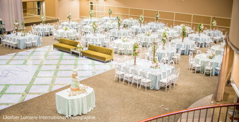 Indian wedding reception table setup capture. in Toronto, ON Indian ...