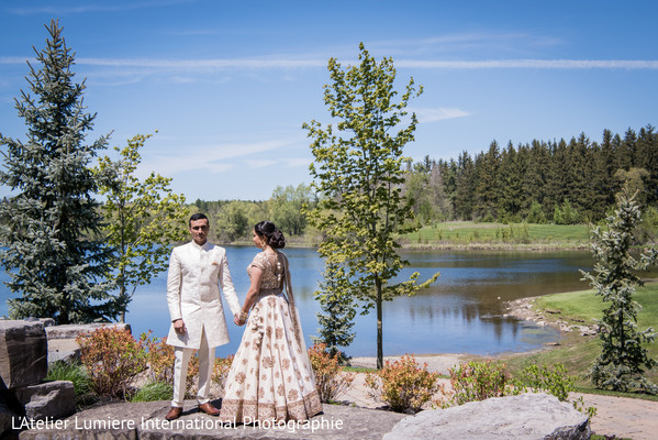 indian wedding fashion,indian bride and groom