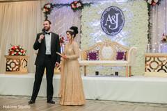 indian wedding reception fashion,indian bride and groom,indian wedding mandap