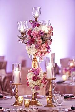 indian wedding decor,indian wedding table decoration,indian wedding reception flower centerpiece