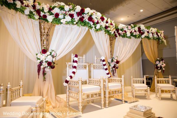 Heavenly Indian wedding Mandap  decorations.