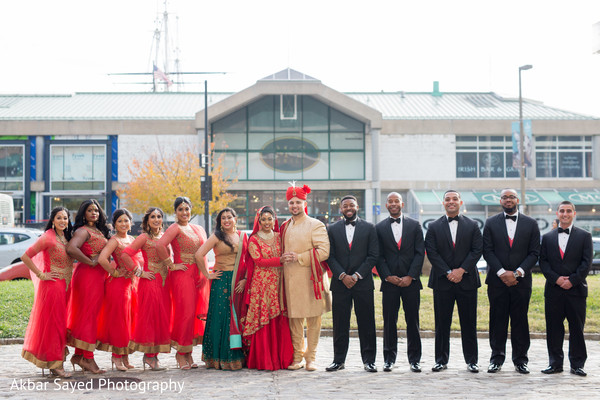 indian wedding ceremony fashion,indian bride and groom,indian bridesmaids and groomsmen
