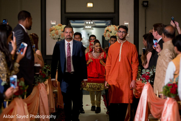 indian bride,indian groomsmen,indian wedding ceremony