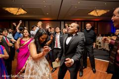 indian wedding guests rocking the dance floor