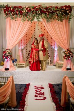 mandap,indian wedding ceremony fashion,indian bride and groom,indian wedding ceremony decor