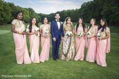 indian wedding gallery,outdoor photography,indian groom fashion,indian bridesmaids fashion