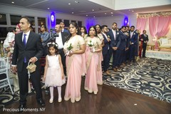 indian wedding reception,indian wedding reception photography,indian bridesmaids and groomsmen