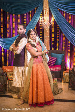 pre- wedding celebrations,gaye holud,indian bride and groom