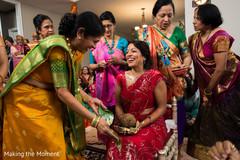 red sari,indian bride,indian wedding
