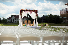 indian wedding,outdoor wedding,mandap