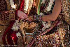 indian wedding,ring ceremony,indian bride lengha