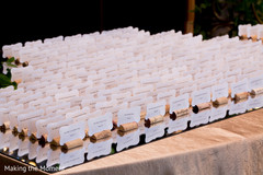 Lovely indian wedding seating cards