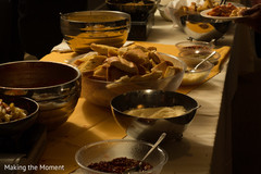 Delicious indian wedding catering