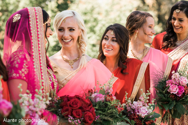 indian wedding gallery,outdoor photography,indian bride fashion,indian bridesmaids fashion