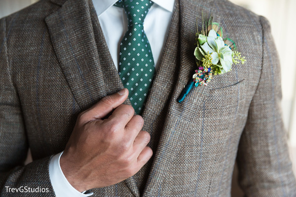 Elegant indian groom suit