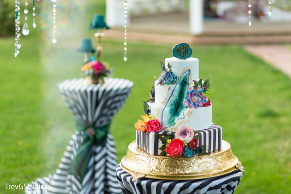 Indian wedding inspiring cake