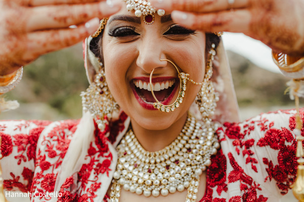 indian wedding gallery,bridal jewelry,indian bride,outdoor photography