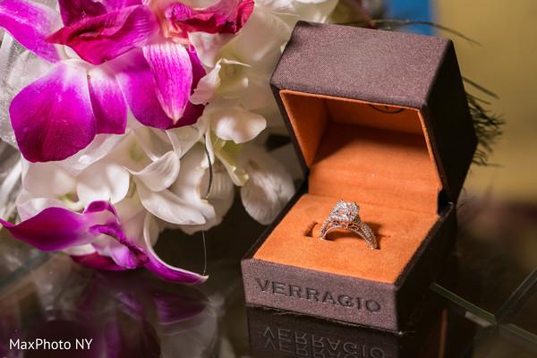 Indian bride's wedding ring