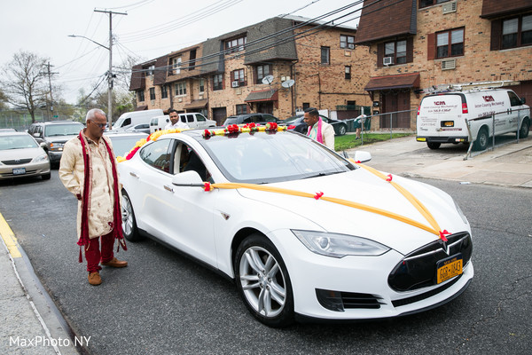 Amazing indian wedding car