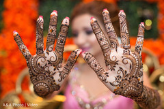 Fantastic indian bridal mehndi art