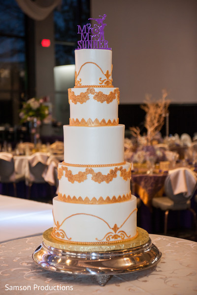 Inspiring indian wedding tier cake