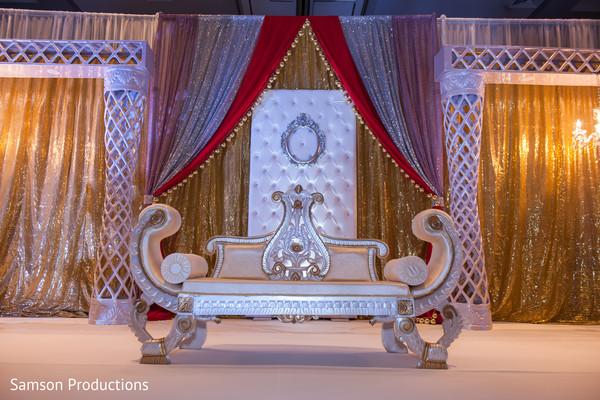 Dreamy indian wedding stage