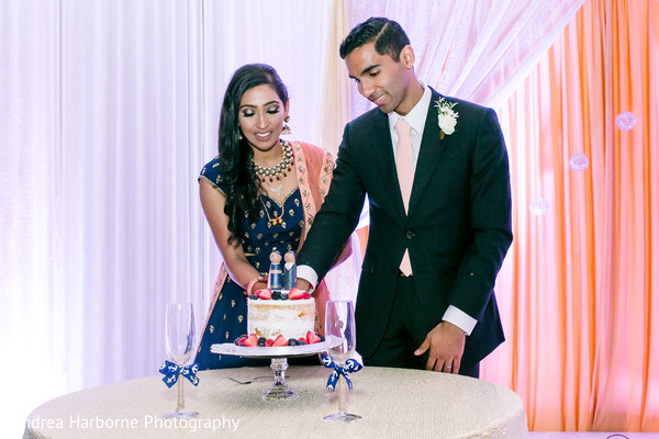 indian wedding reception,wedding cake,cake cutting