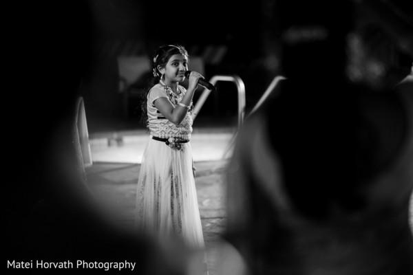 Indian wedding sing performance
