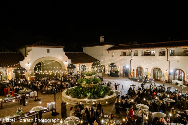 Marvelous indian wedding outoor reception party
