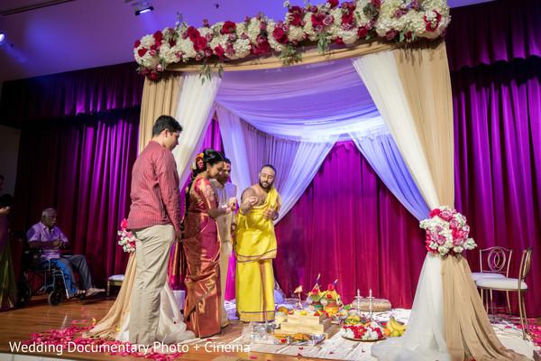 Maharani performing indian wedding traditions