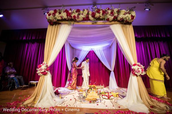 Indian wedding seven steps ceremony