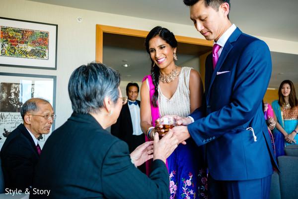 Indian wedding reception celebration capture.