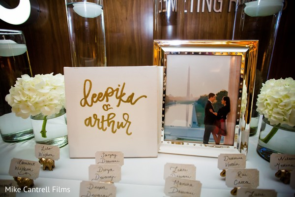 Beautiful Indian wedding elephants names cards holders for table setup.